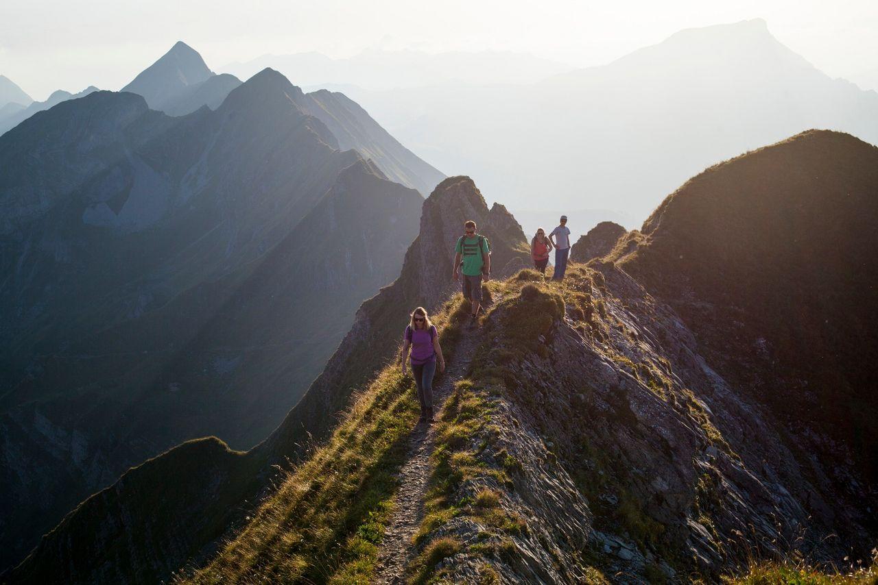 Steinbock-Trek Brienzer Rothorn 1. Etappe