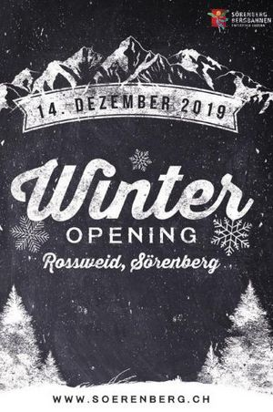 Winter Opening Rossweid