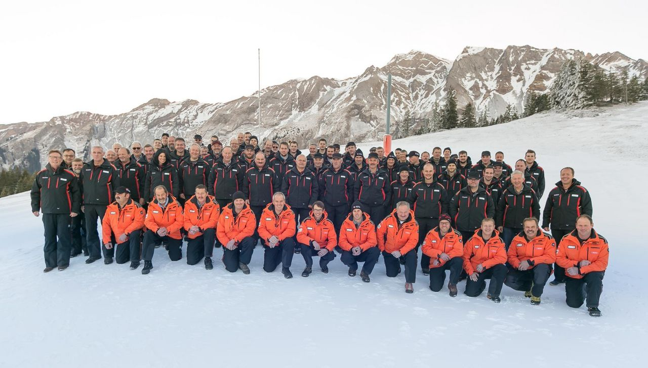 Team Betrieb und Pistenrettung Bergbahnen Sörenberg AG
