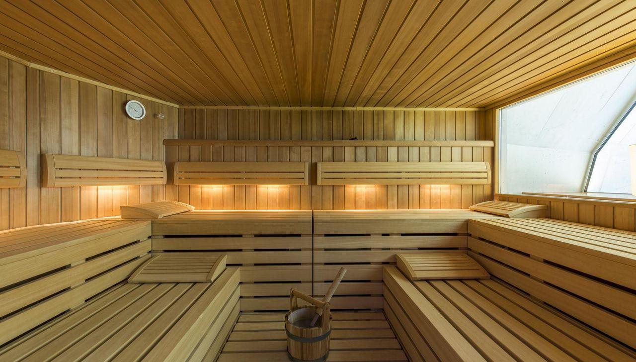 Gemütliche Sauna im REKA Sörenberg zum Entspannen und Wohlfühlen