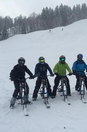 Snowbiken Sörenberg