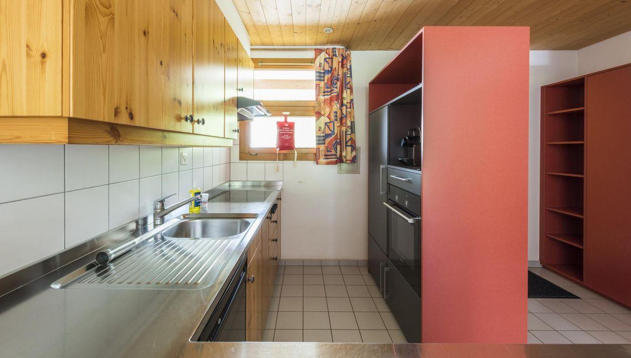 Die ferienwohnung im REKA-Feriendorf sind gut und funktionell eingerichtet.