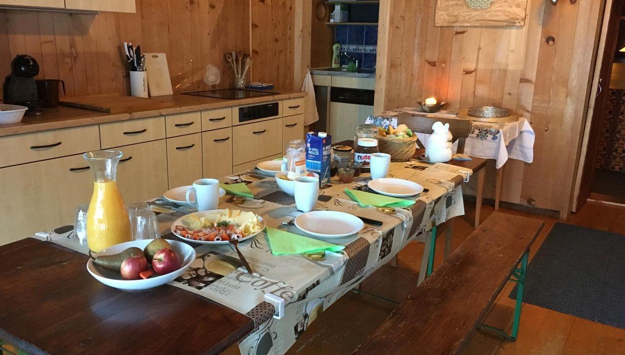 Eine Küche für alle bietet Raum für Begenungen und einen gemeinsamen Kaffee mit dem Nachbarn aus dem Zimmer nebenan