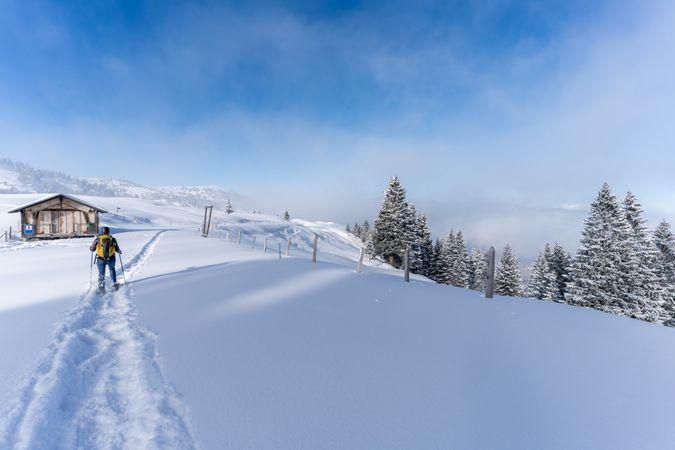 Winterwanderung zum Glaubenbielenpass in Sörenberg
