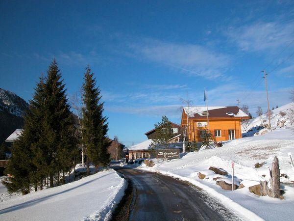Winterwanderung zum Birkenhof in Sörenberg