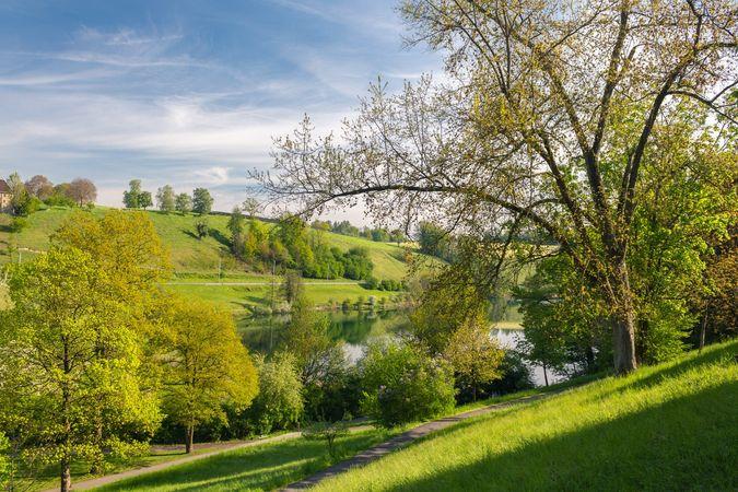 Spaziergang um den Rotsee