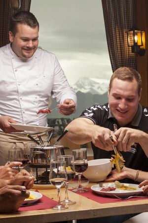 Fondue Chinoise Abend - Gipfel-Restaurant Rothorn