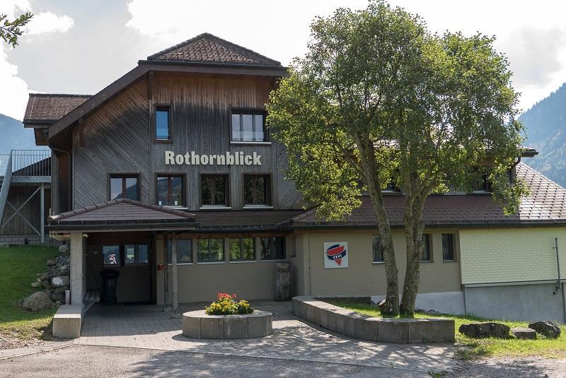 "Gruppenunterkunft ""CEVI Ferienheim Rothornblick"""