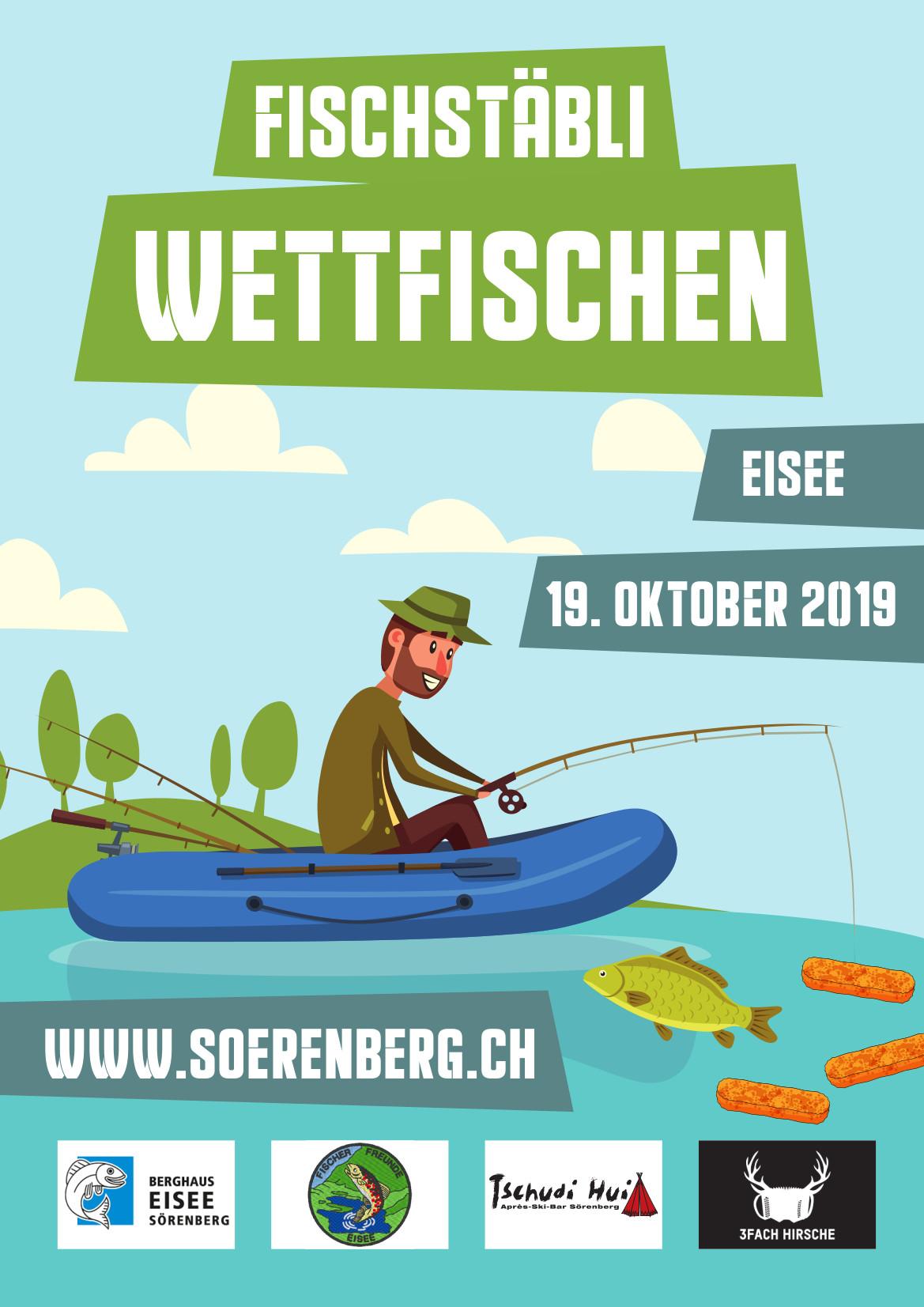 Fischstäbli-Wettfischen Eisee
